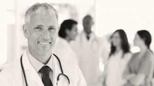 Arts met stethoscoop
