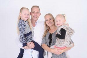Foto Danny, Glenda en kinderen