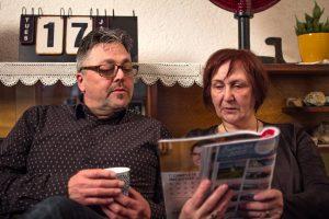 Ervaringsdeskundige Martine leest in tijdschrift