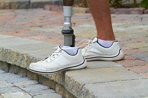Schoenen bij een beenprothese