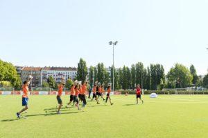 Ottobock Running Clinic - Groep deelnemers